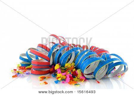 confeti color para una fiesta o Carnaval