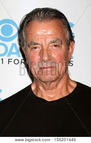 LOS ANGELES - NOV 10:  Eric Braeden at the Young & Restless Celebrate CBS 30 Years at #1 at Paley Center For Media on November 10, 2016 in Beverly Hills, CA