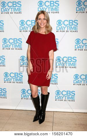 LOS ANGELES - NOV 10:  Lauralee Bell at the Young & Restless Celebrate CBS 30 Years at #1 at Paley Center For Media on November 10, 2016 in Beverly Hills, CA