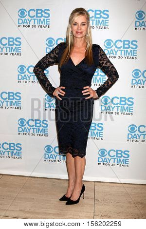 LOS ANGELES - NOV 10:  Eileen Davidson at the Young & Restless Celebrate CBS 30 Years at #1 at Paley Center For Media on November 10, 2016 in Beverly Hills, CA