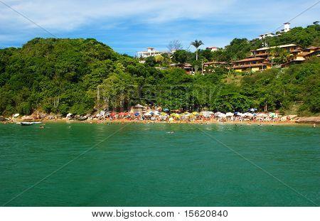 Beach in Buzios Rio de Janeiro Brazil