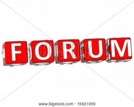 Forum Cube Text
