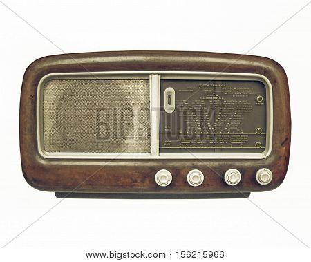 Vintage Looking Old Am Radio Tuner