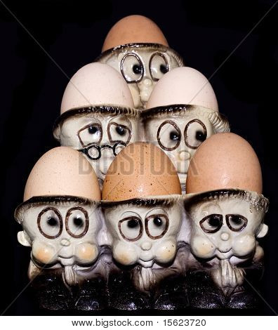 Vintage eggs holder
