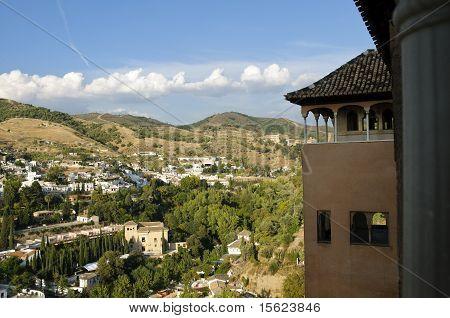 Granada Panorama From The Alhambra