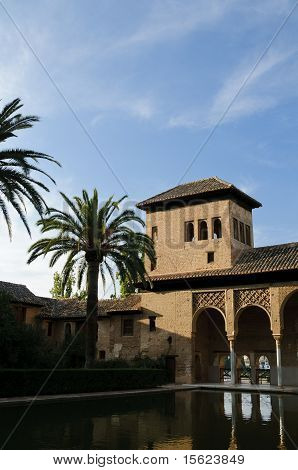 Moorish Architecture In The Alhambra