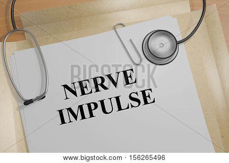 Nerve Impulse - Medical Concept