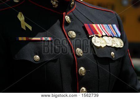 Mann des Militärs