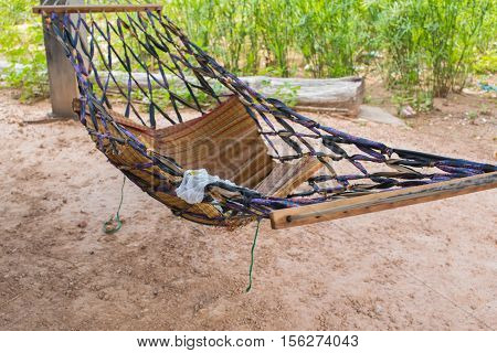 Thai old native style of child crib,Country style bassinet thai