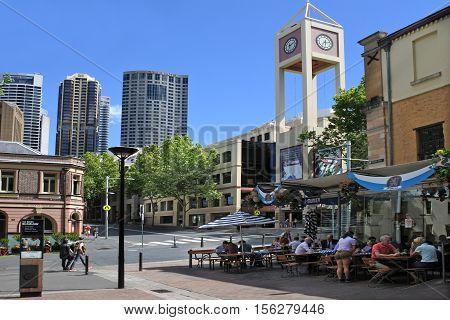 The Rocks Sydney Australia New South Wales Nsw