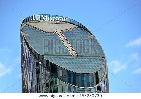 J.p Morgan Tower Sydney New South Wales Australia