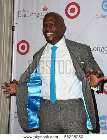 LOS ANGELES - NOV 10:  Terry Crews at the 5th Annual Eva Longoria Foundation Dinner at Four Seasons Beverly Hills  on November 10, 2016 in Beverly Hills, CA