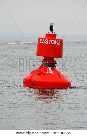 Starboard maritime navigational buoy
