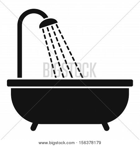 Shower icon. Simple illustration of shower vector icon for web design