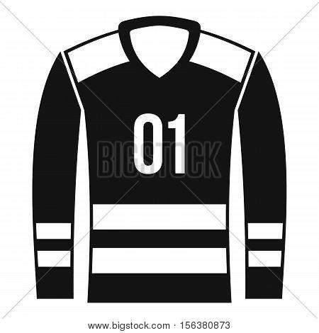 Sport uniform icon. Simple illustration of sport uniform vector icon for web