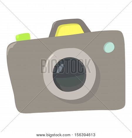 Photocameraicon. Cartoon illustration of photocamera vector icon for web