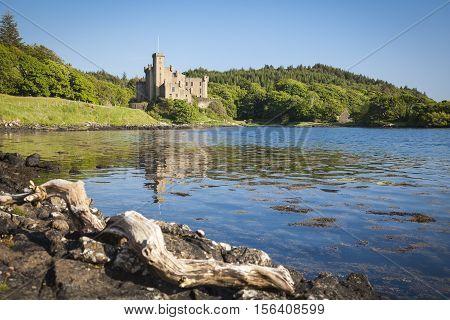 Dunvegan on the Isle of Skye Scotland