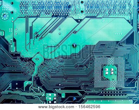 The motherboard background and texture.