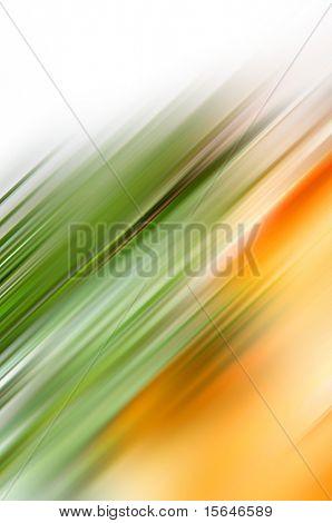 Green and orange motive