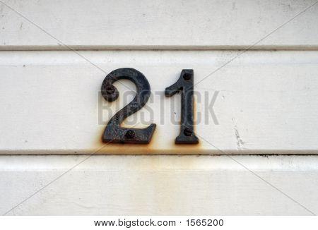 Number Twenty-One