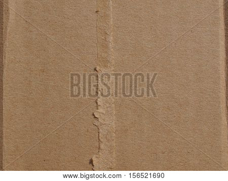 Brown Corrugated Cardboard Texture Background