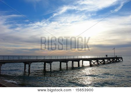 Jetty at Port Julia, South Australia