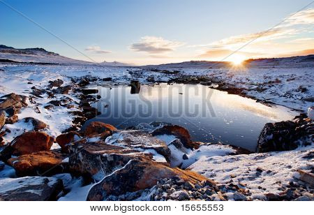 Moody Brook in the Falkland Islands
