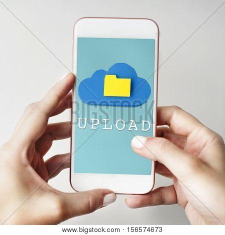 Upload Smartphone Concept