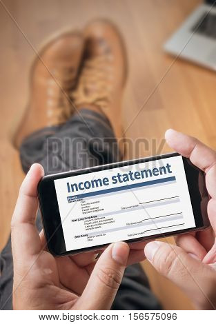 Income Statement Employment Businessman Assessment Balance accounting, accounts, adult
