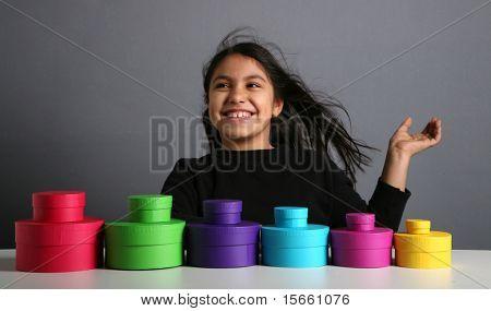 portrait nice girl