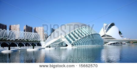 architecture in valencia