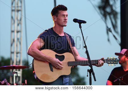 LAKE WALES, FL-NOV 5: Brad Rempel of High Valley performs at the CountryFlo Music and Camping Festival on November 5, 2016 in Lake Wales, Florida.