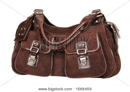 Suede Female Handbag