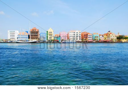 Colors Of Willemstad, Curasao