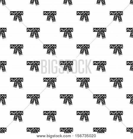 Scarf pattern. Simple illustration of scarf vector pattern for web