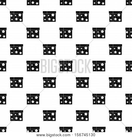 Sword box illusion pattern. Simple illustration of sword box illusion vector pattern for web