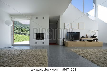 interior modern brick house
