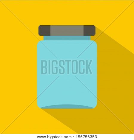 Jar icon. Flat illustration of jar vector icon for web