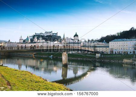 Christmas In Salzburg, Austria, Europe
