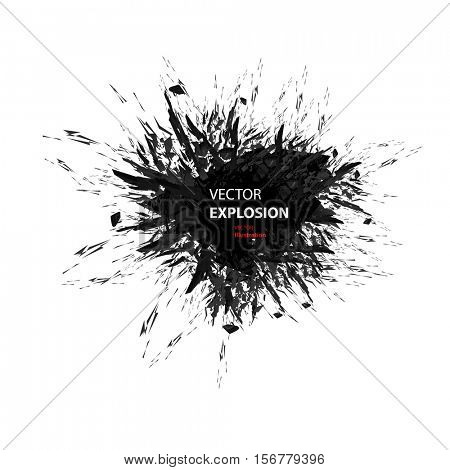 explode effect background easy all editable