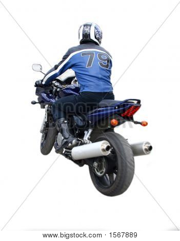 Der Motorradfahrer