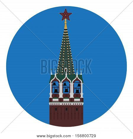 Kremlin Tower Vector