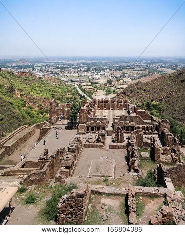 Takht-i-Bhai Parthian archaeological site and Buddhist monastery Pakistan