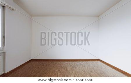 Vista interna vacía