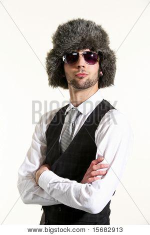 russian boy portrait