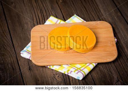 Vegan Diy Homemade Yellow Cheese