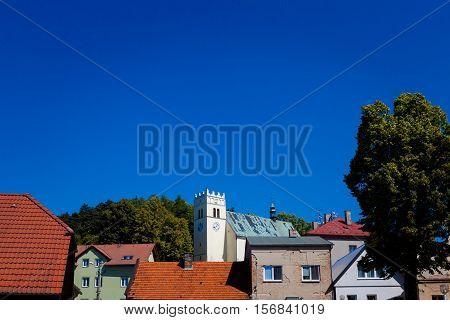 View Of Stary Jicin Church
