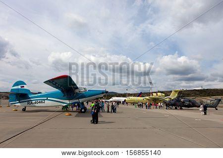 Exhibition Of Aircraft On Gidroaviasalon 2016, Russia