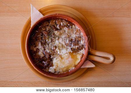 Delicious Famous Czech Garlic Soup