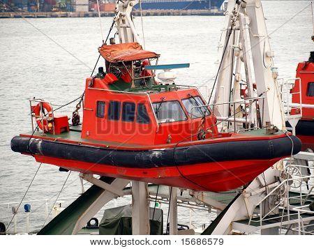 Küstenwache-Rettungsboot